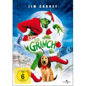 Grinch, The (DVD) Min: 101D:DSWS - Universal 8229647 - (DVD Video / Kinderfilm)