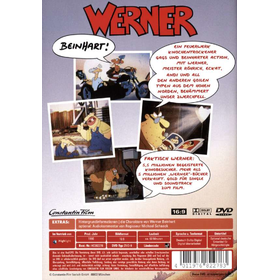 Werner 1 (DVD) - Beinhart Min: 93DD5.1WS - Highlight 7682278 - (DVD Video / Familienfilm)