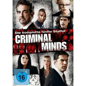 Criminal Minds (DVD) Staffel #5  6DVDs Min: 932DD5.1WS - Disney BGA0080404 - (DVD Video / TV-Serie)