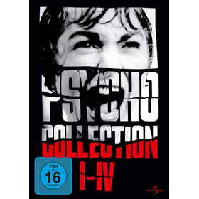 Psycho Collection 1-4 (DVD) BOX  4DVDs Min: 393DDWS              Universal