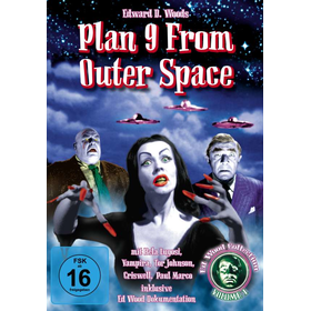 Plan 9 from outer Space - Al!ve 6401236 - (DVD Video / Horror / Grusel)
