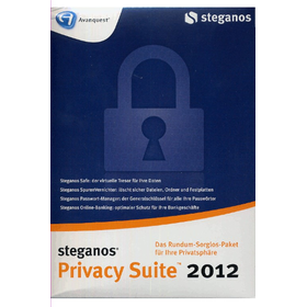 Steganos Privacy Suite 2012 - Steganos GmbH  - (PC Software / Organisation / Sicherheit)