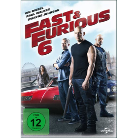 Fast 6 & the Furious (DVD) Min: 125DD5.1WS - Universal 8293141 - (DVD Video / Action)