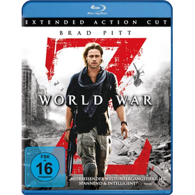 World War Z (BR) Extended Cut Min: 123DD5.1WS - Paramount 8425235 - (Blu-ray Video / Action)