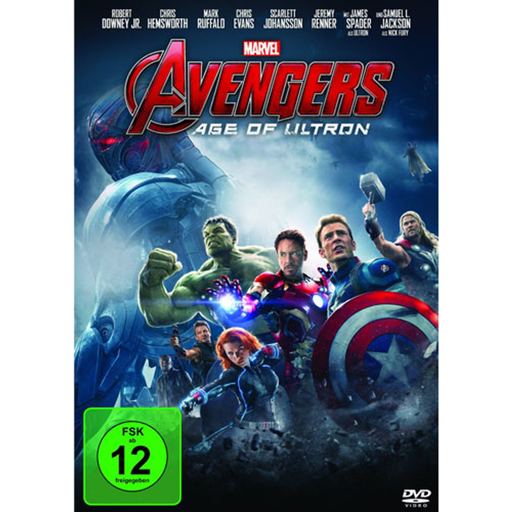 The Avengers: Age of Ultron (DVD Video)