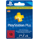 PlayStationPlus Live Card (365Tage) PSN Card (SONY® PS4)