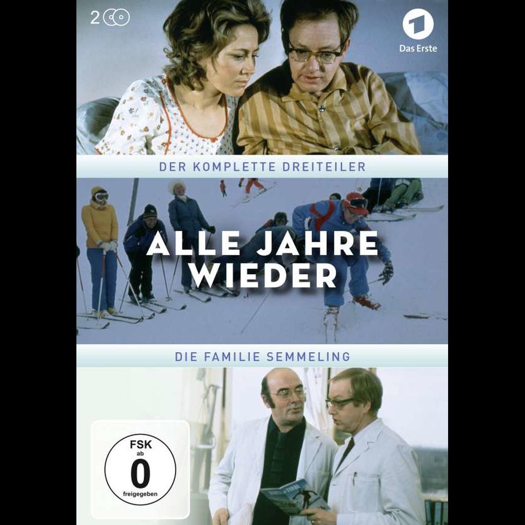 Alle Jahre wieder - Die Familie Semmeling (DVD Video)