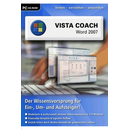 Vista Coach: Word 2007 - DTP  - (PC Software / Lernsoftware)