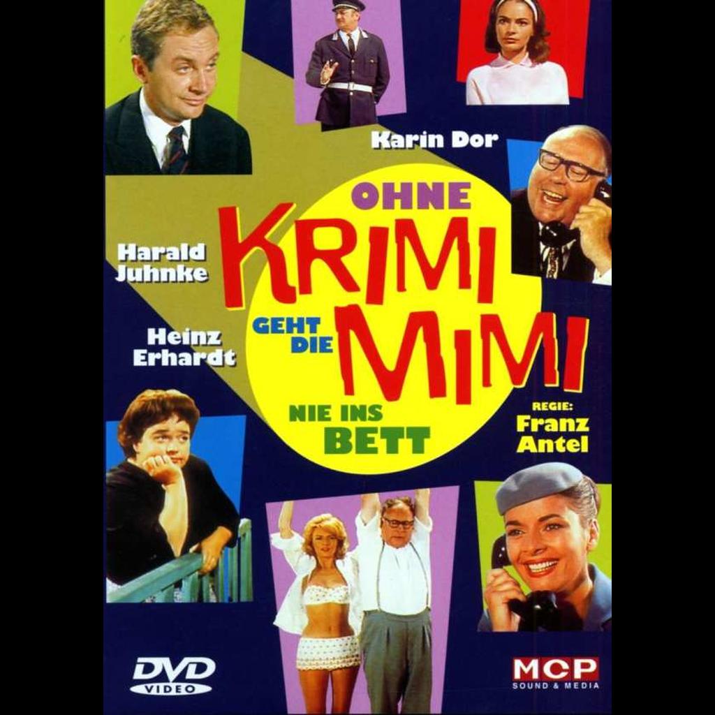 Ohne Krimi geht die Mimi nie ins Bett (DVD Video)