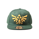 Zelda - Twilight Princess, Snapback With Golden Triforce...