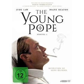 Young Pope, The - Der junge Papst (DVD) Min: 450DD5.1WS   Staffel #1  4Disc - Polyband 7776681POY - (DVD Video / TV-Serie)