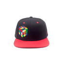 Rubiks - Coloured Rubiks Cube Black Snapback - Difuzed...
