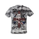 Alchemy - Vintage t-shirt  Ace of England Skull - Difuzed...