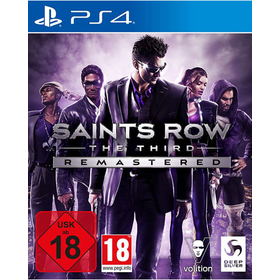 Saints Row 3  PS-4  Remastered