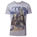 Star Wars - Han Solo 3 Is A Crowd Mens T-shirt - Difuzed...