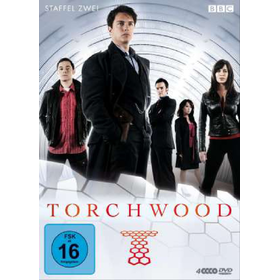 Torchwood - Staffel 2 (DVD)  4DVDs Min: 13*50&50DD2.0WS          Polyband - WVG 7775656POY - (DVD Video / Science Fiction)