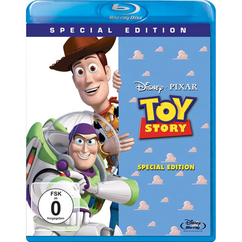 Toy Story 1 - Special Edition (Blu-ray Video)
