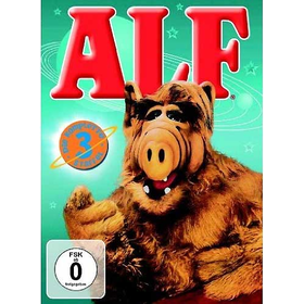 Alf - Staffel 3 (DVD)  4DVDs Min: 549DD2.0VB   *Auslaufartikel! - Warner 1000154361 - (DVD Video / TV-Serie)